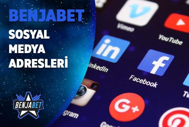 benjabet sosyal medya adresleri